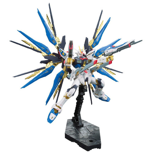 Bandai RG 14 RG Strike Freedom Gundam Z.A.F.T. Mobile Suit ZGMF-X20A 1/144 Scale Kit