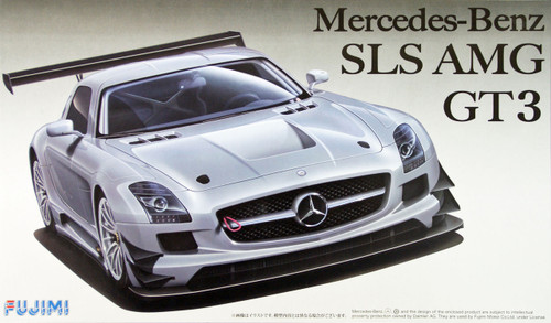 Fujimi RS-SP6 Mercedes-Benz SLS AMG GT3 with Etching Parts 1/24 Scale Kit