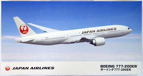 Hasegawa 10801 JAL Japan Airlines Boeing 777-200ER (Limited Edition) 1/200 Scale Kit