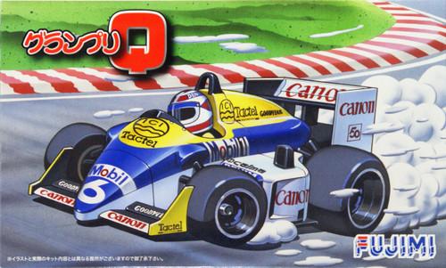 Fujimi Grand Prix Q Series No. 02 F1 Williams FW11-B non-Scale Kit