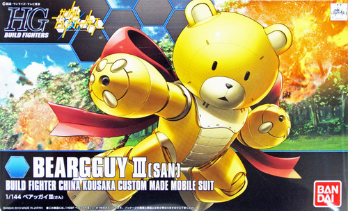 Bandai HG Build Fighters 005 BEARGGUY III (SAN) 1/144 Scale Kit