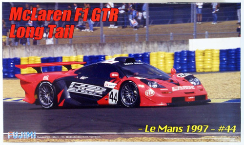 Fujimi RS-91 McLaren F1 GTR Long Tail Le Mans 1997 #44 1/24 Scale Kit