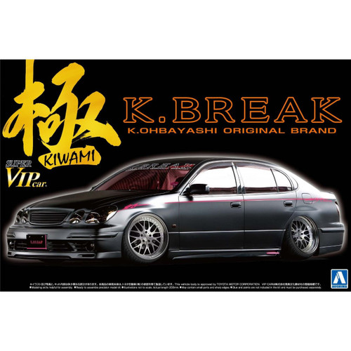 Aoshima 09611 Toyota Aristo Late Version (Type S) K-Break Kiwami 1/24 Scale Kit