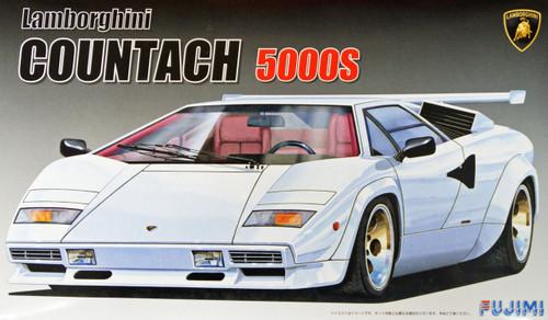 Fujimi EM17 Lamborghini Countach 5000S 1/24 Scale Kit