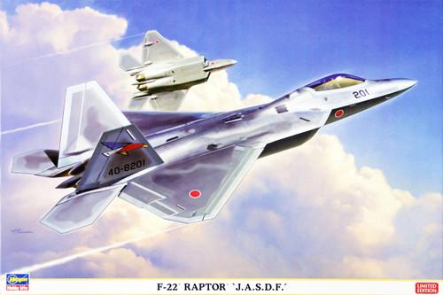 Hasegawa 02076 F-22 Raptor J.A.S.D.F 1/72 Scale Kit