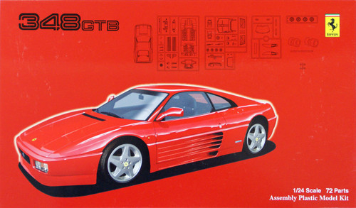 Fujimi RS-69 Ferrari 348GTB 1/24 Scale Kit