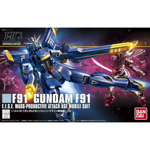 Bandai HGUC 168 Gundam F91 Harrison Martin Custom 1/144 Scale Kit