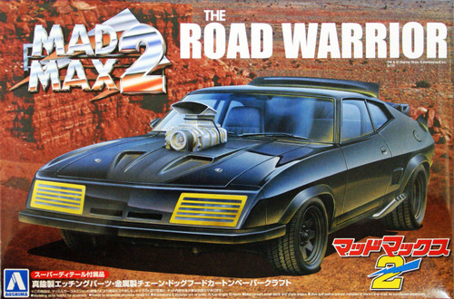 Aoshima 04661 Mad Max 2 The Road Warrior Interceptor (Super Detail) 1/24 Scale Kit