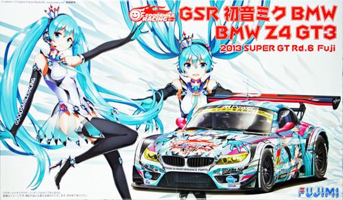 Fujimi 170107 BMW Z4 GT3 Hatsune Miku 2013 Super GT Rd. 6 Fuji 1/24 Scale Kit