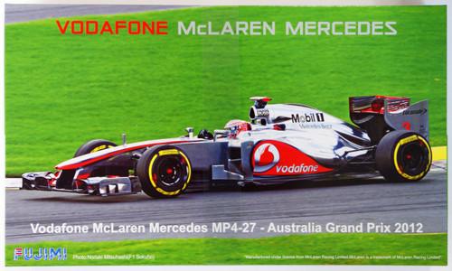 Fujimi GP SP33 F1 McLaren MP4-27 Australia GP with Driver Figure 1/20 Scale Kit