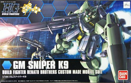 Bandai HG Build Fighters 010 GM SNIPER K9 1/144 Kit