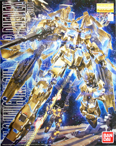 Bandai MG 865342 RX-0 Unicorn Gundam 03 Phenex 1/100 Scale Kit