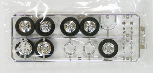 Fujimi TW71 Aluminum Wheel & Tire Set 19.5 inch 1/32 Scale Kit
