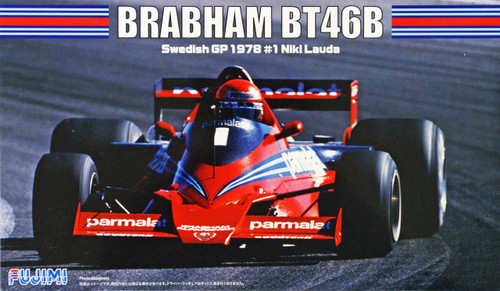 Fujimi GP SP37 F1 Brabham BT46B Swedish GP 1978 #1 Niki Lauda 1/20 Scale Kit