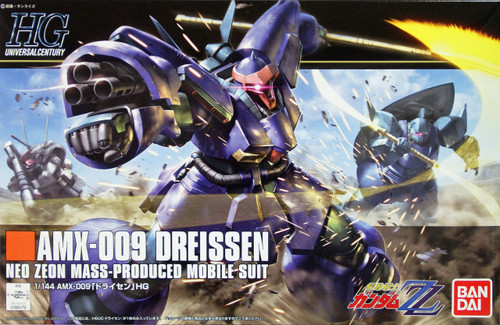 Bandai HGUC 172 Gundam AMX-009 DREISSEN NEO ZEON MASS-PRODUCED MOBILE SUIT 1/144 Scale Kit