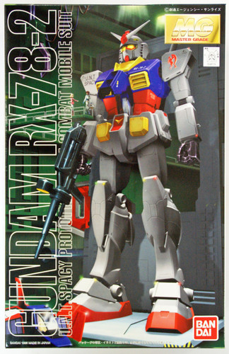 Bandai MG 481296 Gundam RX-78-2 Gundam 1/100 Scale Kit