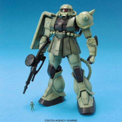 Bandai MG 485171 Gundam MS-06 F/J Zaku II 1/100 Scale Kit