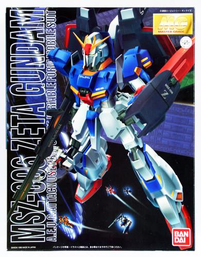 Bandai MG 526737 Gundam MSZ-006 Zeta Gundam 1/100 Scale Kit