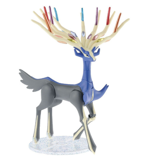 Bandai Pokemon Plamo 33+34 Xerneas & Yveltal (Plastic Model Kit)