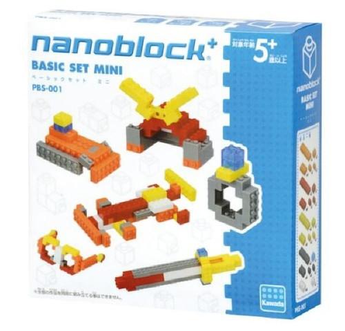Kawada PBS-001 nanoblock plus BASIC SET MINI