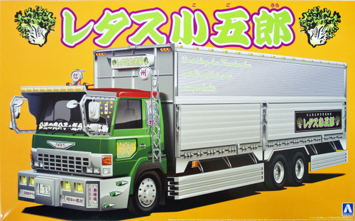 Aoshima 09673 Japanese Decoration Truck Lettuce Kogoro 1/32 Scale Kit