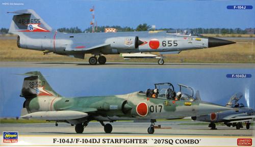 Hasegawa 02104 F-104J/F-104DJ Starfighter 207SQ Combo (2 plane set) 1/72 Scale Kit