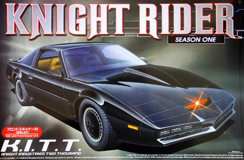 Aoshima 04524 Knight Rider KITT (KitT) Season 1 w/LED Front Scanner 1/24 Kit