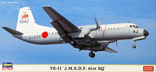 Hasegawa 10806 YS-11 JMSDF 61st SQ (Limited Edition) 1/144 Scale Kit