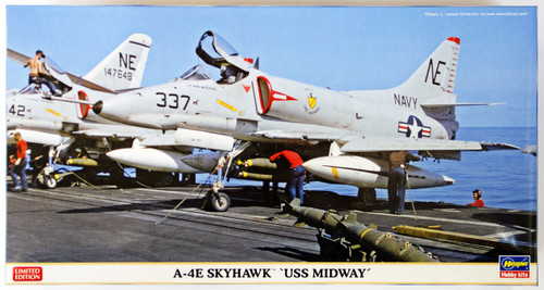 Hasegawa 07377 A-4E Skyhawk USS Midway 1/48 Scale Kit