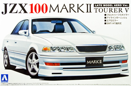 Aoshima 10877 Toyota Mark II (JZX100) Tourer V Late Model Aero Version 1/24 Scale Kit