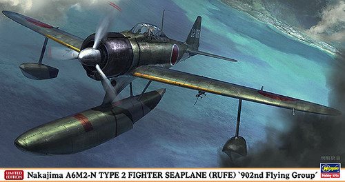 Hasegawa 07376 Nakajima A6M2-N Type 2 Fighter Seaplane (Rufe) 902nd Flying Group 1/48 Scale Kit