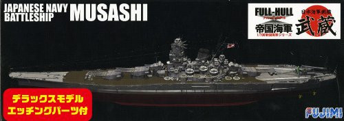 Fujimi FHSP-06 IJN BattleShip Musashi Full Hull Model with Etching Parts 1/700 Scale Kit