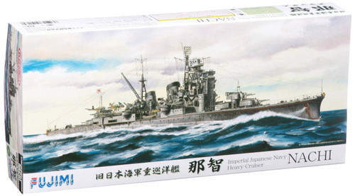 Fujimi TOKU SP04 IJN Imperial Japanese Naval Heavy Cruiser Nachi Deluxe with Photo Etched Parts 1/700 Scale Kit