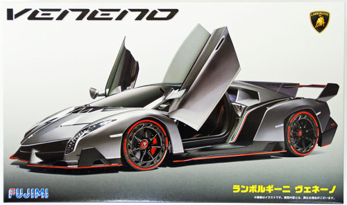 Fujimi RS-30 Lamborghini Veneno DX with Photo Etched Parts 1/24 Scale Kit 125978