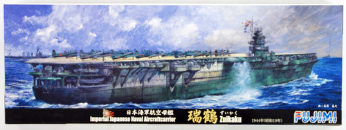 Fujimi TOKU SP25 IJN Imperial Japanese Navy Aircraft Carrier Zuikaku 1944 DX with Wooden Deck Seal & Decal Dry Transfer 1/700 Scale Kit