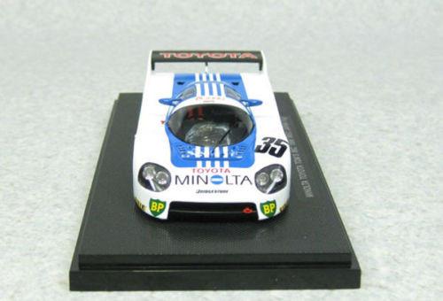 Ebbro 44242 Minolta Toyota TOM'S 86C 1986 WEC JAPAN Fuji No.35 Blue 1/43 Scale