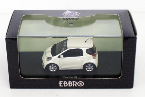 Ebbro 44696 TOYOTA IQ WHITE 1/43 Scale