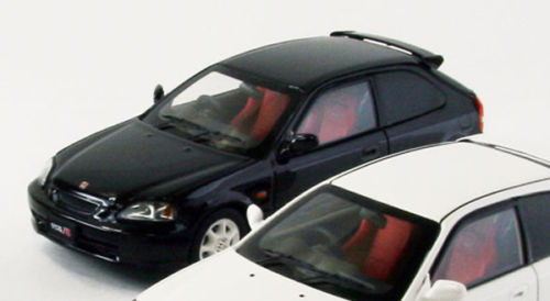 Ebbro 44836 HONDA CIVIC Type-R EK9 early version BLACK 1/43 Scale