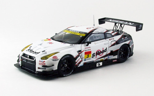 Ebbro 44926 S Road NDDP GT-R SUPER GT300 2013 No.3 1/43 Scale