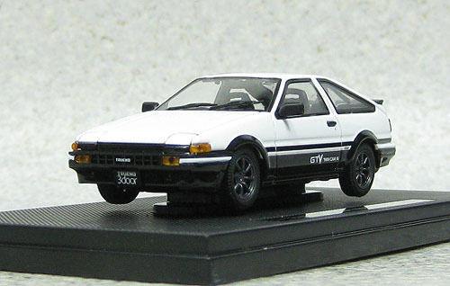 Ebbro 44973 Toyota Sprinter Trueno AE86 GTV White 1/43 Scale