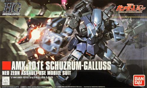 Bandai HGUC 183 Gundam AMX-101E SCHUZRUM-GALLUSS 1/144 Scale Kit