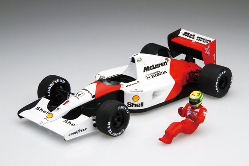 Fujimi GP SP41 F1 McLaren Honda MP4/6 Japan GP 1991 with Driver Figure 1/20 Scale Kit