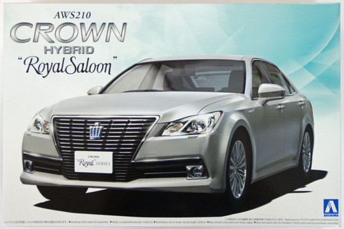 Aoshima 08454 AWS210 Toyota Crown Hybrid Royal Saloon G 2012 1/24 Scale Kit