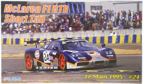 Fujimi RS-27 McLaren F1 GTR Short Tail Le Mans 1995 #24 1/24 Scale Kit 125992
