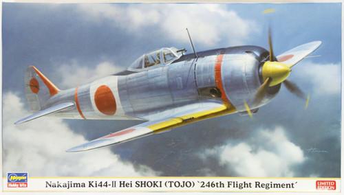 Hasegawa 07382 Nakajima Ki44-II Hei SHOKI (TOJO) 246th Flight Regiment 1/48 Scale Kit