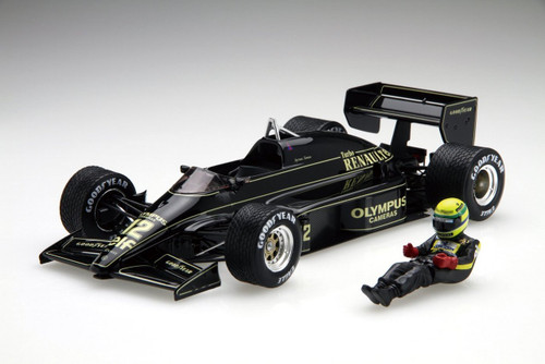 Fujimi GP SP40 F1 Team Lotus 97T Portugal GP 1985 with Driver Figure 1/20 Scale Kit