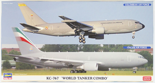 Hasegawa 10808 KC-767 World Tanker Combo (Limited Edition) 1/200 Scale Kit