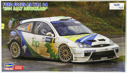 Hasegawa 20263 Ford Focus RS WRC 04 2004 Rally Deutschland 1/24 Scale Kit (Limited Edition)