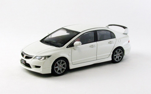 Ebbro 44883 Honda Civic Type-R FD2 late version White 1/43 Scale