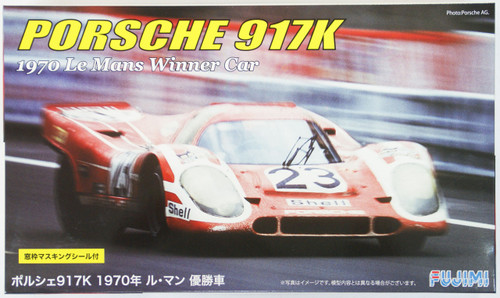 Fujimi RS-49 Porsche 917K 1970 Le Mans Winner Car 1/24 Scale Kit 126074